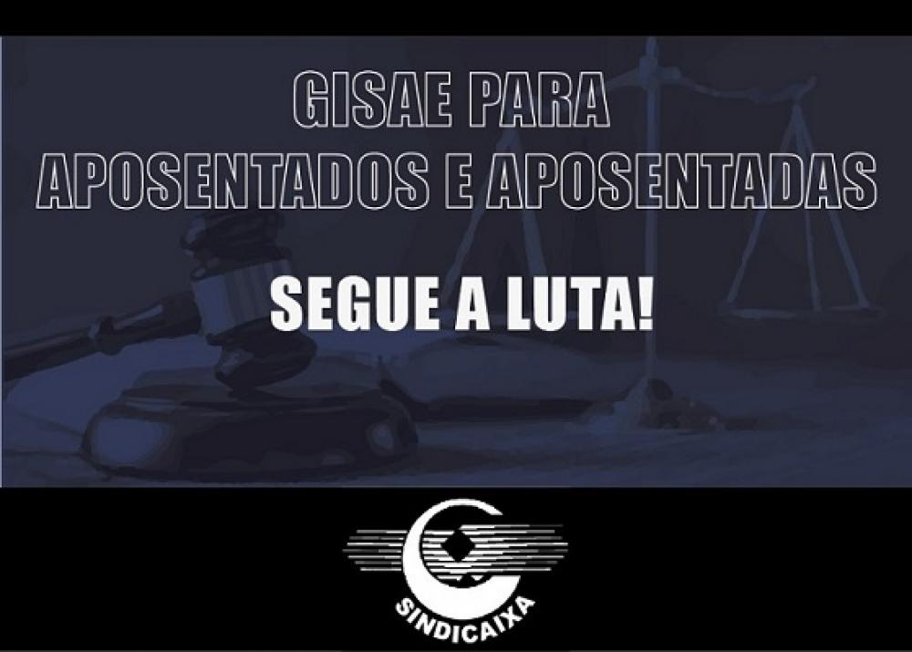 GISAE: segue a luta!